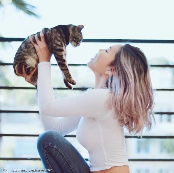 스테파니 이시드로는 아킬레스 같은 고양이를 처음 봤다고 단언했다.
